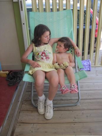 Eva and Sarah